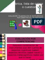 instrumentos de evaluación lista e cotejo otros