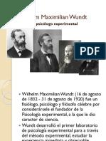 Wilhem Wundt - Voluntarismo
