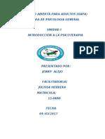 TAREA I INTRODUCCION PSICOTERAPIA.docx