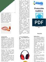 PROTECCION AUDITIVA MEDIDAS BASICAS DE PROTECCIÓN