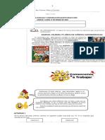 CLASE  1-2-3 UNIDAD 1de lenguaje quinto basico 2020