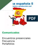 Lengua española V Aula 1 e 2