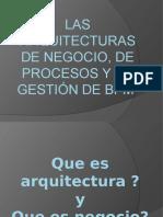 Las arquitecturas de negocio, de procesos y.pptx