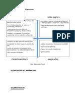 Plan de marketing del proyecto