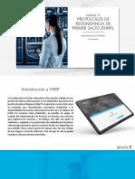 Protocolos de Redundancia de Primer Salto (FHRP)