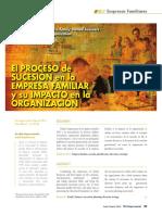 Sucesión en Empresas Familiares - lectura