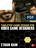 Ham, Ethan - Tabletop game design for video game designers (2016, Focal Press)