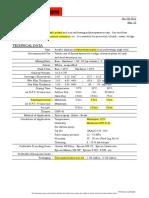 Uny Marine HS data sheet