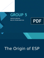 THE ORIGN OF ESP.ppt