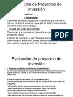 Evaluación de Proyectos de Inversión -converted