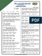 Problemas Propuestos de Porcentajes PT61 Ccesa007