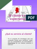 El cliente y sus expectativas