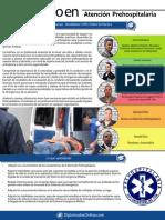 DIPLOMADO IN Atención de Emergencias Prehospitalarias