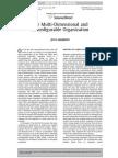 Multi-dimensional and Reconfigurable Organization