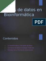 22-Bases de datos-Bioinform.ppt