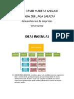 Ideas ingenuas. Yeiner Madera, Natalia Zuluaga