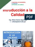 01 Introduccion a La Calidad