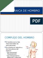 biomecanica de hombro