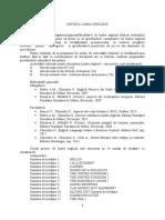 Limba Engleza Anul I semestrele I    si II.docx