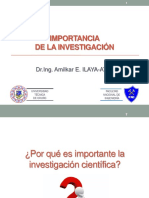 1-IMPORTANCIA INVESTIGACION