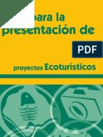 Guia para la presentación de proyectos ecoturisticos