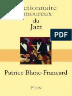 Dictionnaire.amoureux.du.jazz.Patrice Blanc-Francard.bookys.me