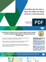 Análisis Espacial del tráfico de fauna silvestre_presentacion SERFOR