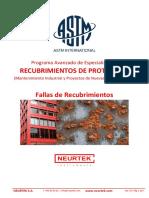 Neurtek ASTM - Inspeccion de Recubrimientos - Programa - Fallas de Recubrimientos