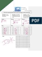 graphing pre-assessment jdugger