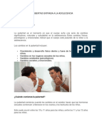 LA PUBERTA documento