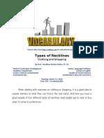 Post 339 - Vocabulary Series - Necklines