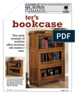 WoodPlans Online - Barrister's Bookcase