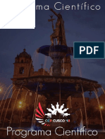 Cronograma Cientifico CCP Cusco 2018