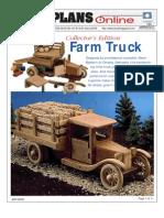 WoodPlans Online - Farm Truck