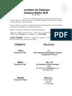 Clase 1 - Camara Reflex - Formatos