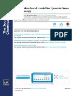 Non Markov Bond Model for Dynamic Force Spectroscopy.pdf