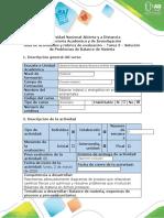 Guía de Balance másico y energético en problemáticas ambientales