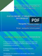 Paulo Freire unidad en la diversidad