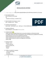 1.- INSTALACION ASTERISK
