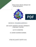 PROYECTO DE EDUCACION ARTISTICA (1)