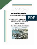 INFLUENCIA DEL CRISTIANISMO EN LATINO AMERICA