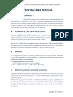 3.00 - Especificaciones Tecnicas Pav.