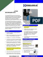 ReadySPEC_Datasheet_92010 TELCOBACKBOARD SPECS