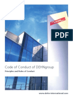 Dehn- Cod of Conduct