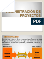 Administración de proyectos resumen