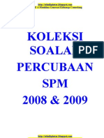 Koleksi Percubaan Spm 2008&2009