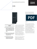 IBM eServer i5 570 - Brochures and Data Sheets