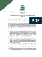 C-12-2020-nuevas disposiciones ante la emergencia sanitaria