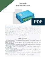 Driver ZDM-2HA865 Manual Specification