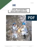 Manual de Muestreo Morococha